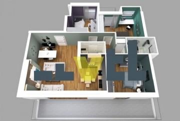 (Προς Πώληση) Κατοικία Οροφοδιαμέρισμα || Αθήνα Νότια/Παλαιό Φάληρο - 114 τ.μ, 3 Υ/Δ, 410.000€