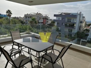 (Προς Ενοικίαση) Κατοικία Διαμέρισμα || Αθήνα Νότια/Ελληνικό - 122 τ.μ, 2 Υ/Δ, 2.500€